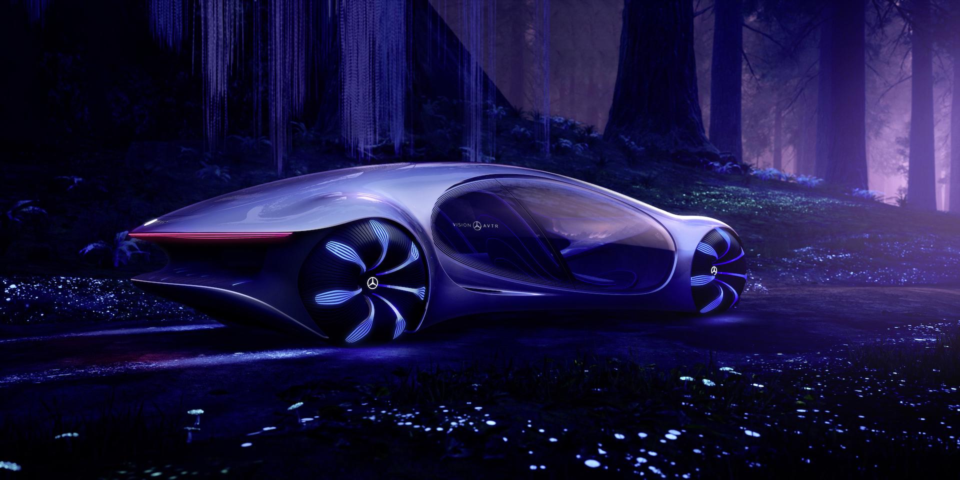 Der Mercedes-Benz Vision AVTR: Ein Auto, inspiriert von der Zukunft 5