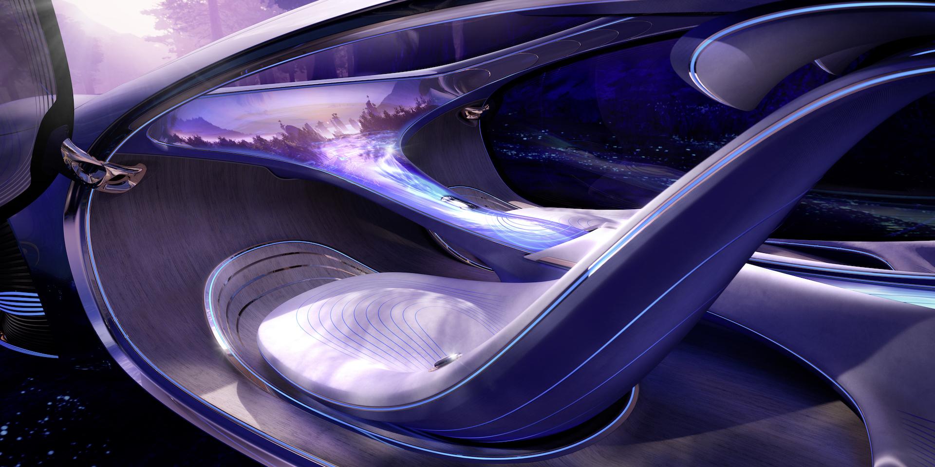 Der Mercedes-Benz Vision AVTR: Ein Auto, inspiriert von der Zukunft 2
