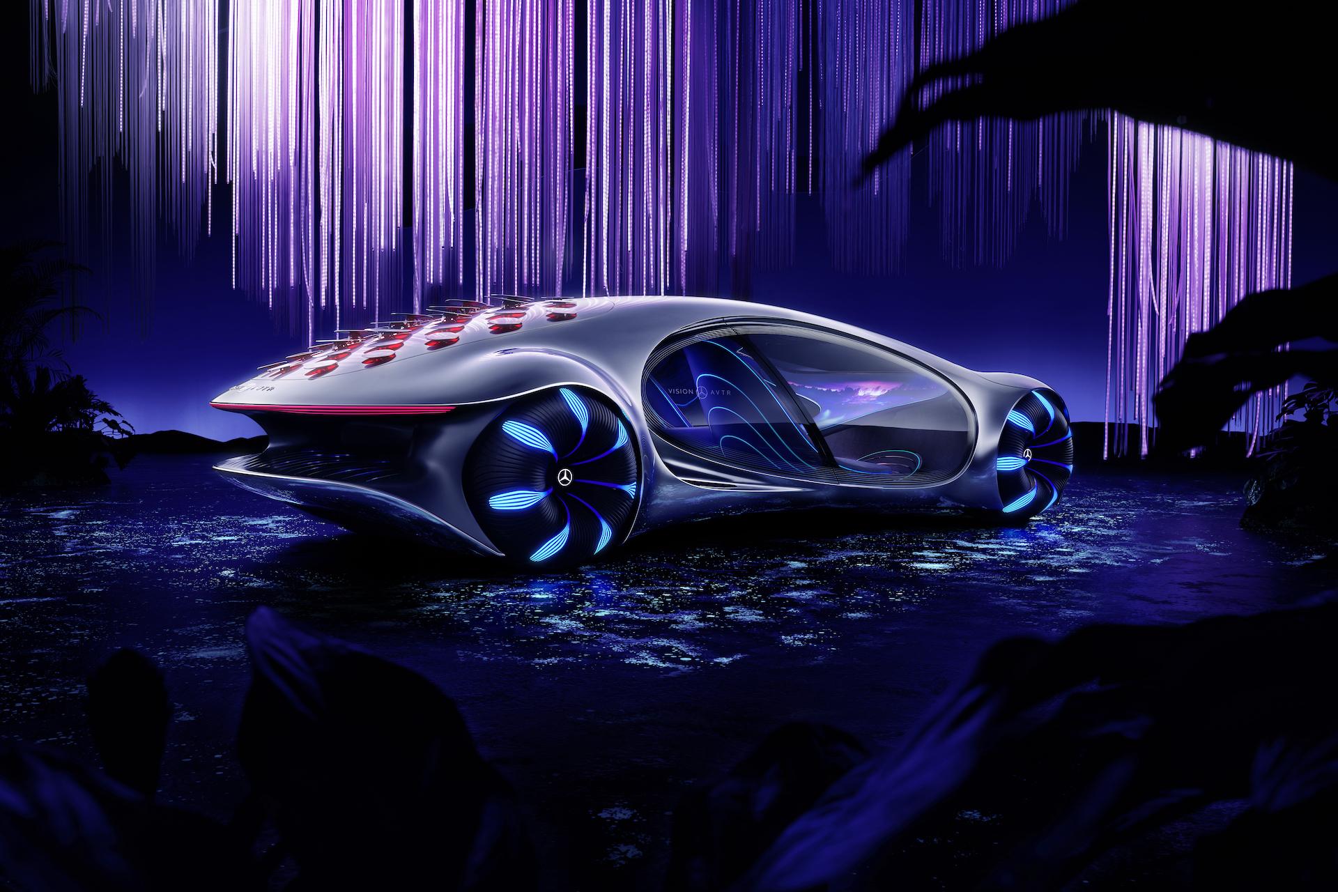 Der Mercedes-Benz Vision AVTR: Ein Auto, inspiriert von der Zukunft 18
