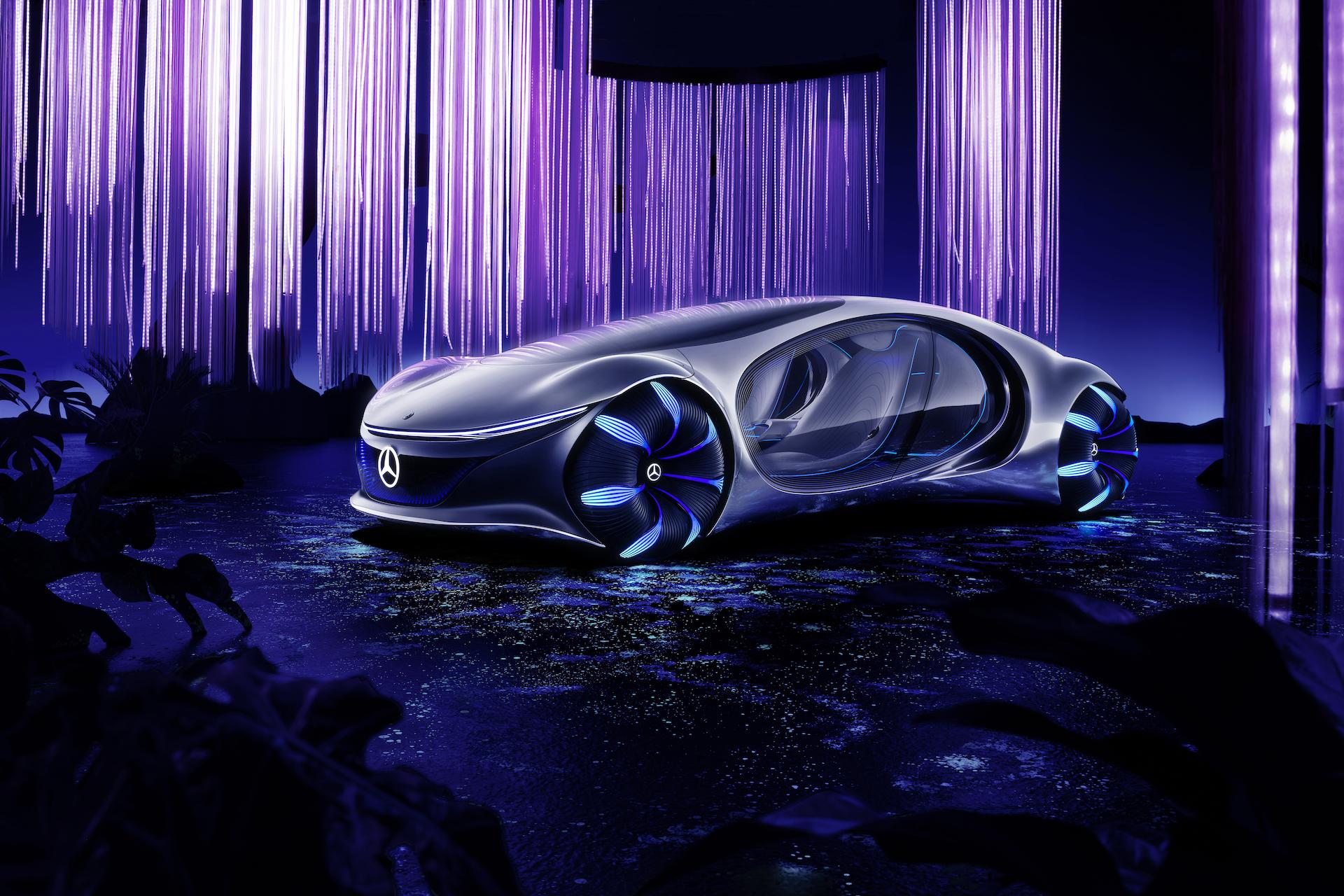 Der Mercedes-Benz Vision AVTR: Ein Auto, inspiriert von der Zukunft 17