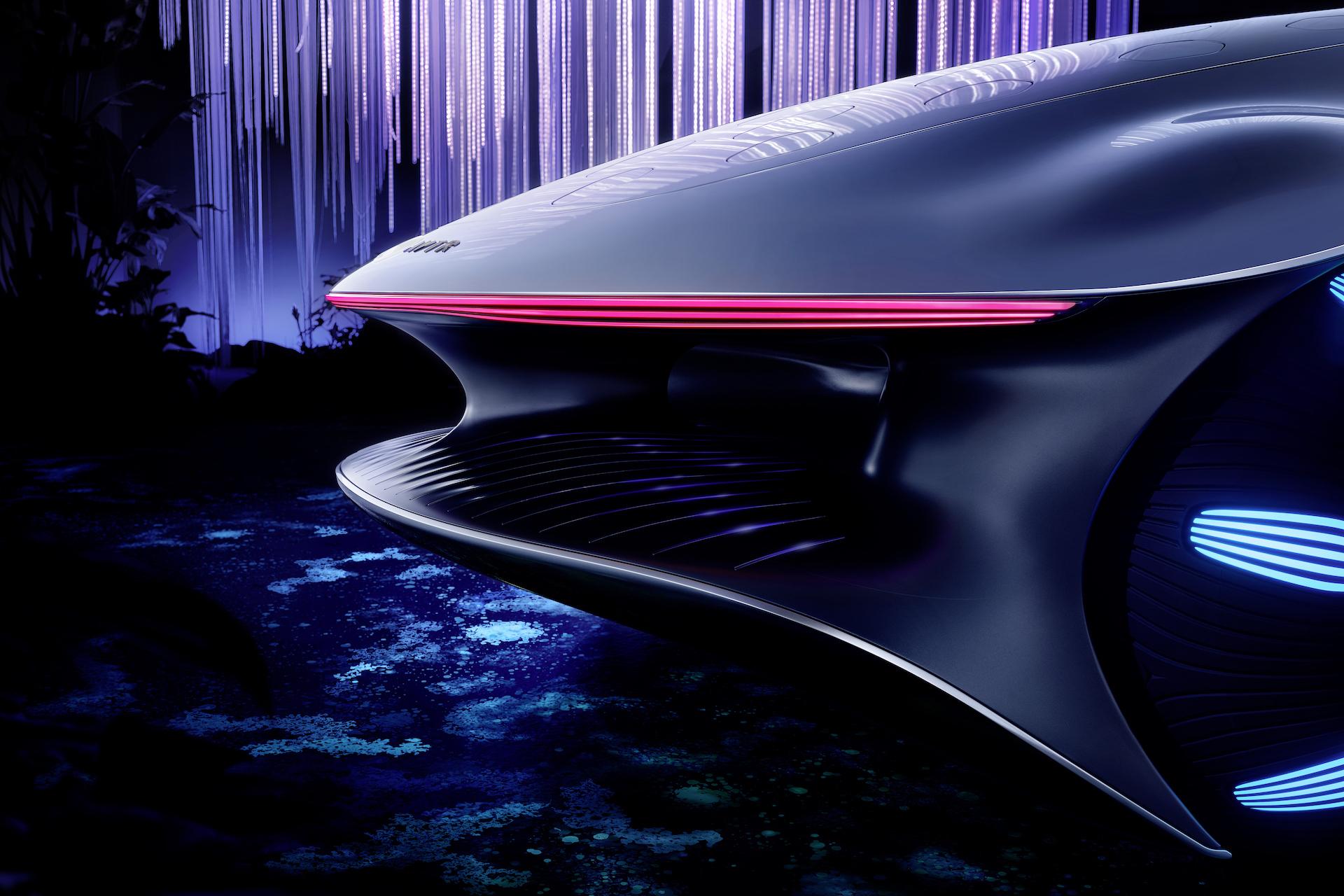 Der Mercedes-Benz Vision AVTR: Ein Auto, inspiriert von der Zukunft 14