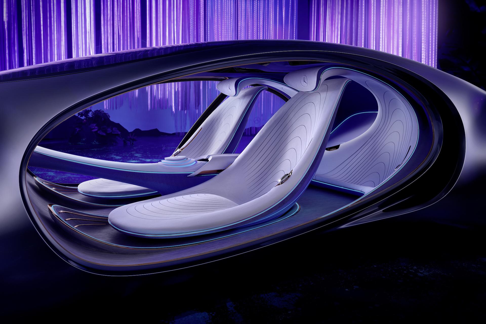 Der Mercedes-Benz Vision AVTR: Ein Auto, inspiriert von der Zukunft 12