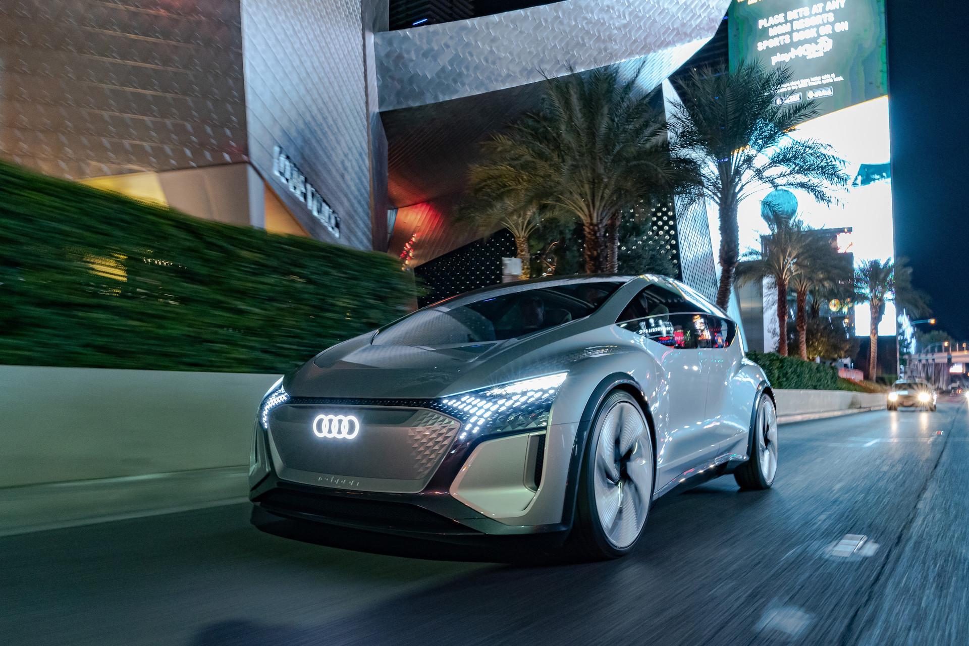 Audi auf der CES 2020: Die Neuheiten und Zukunftskonzepte in Las Vegas 1