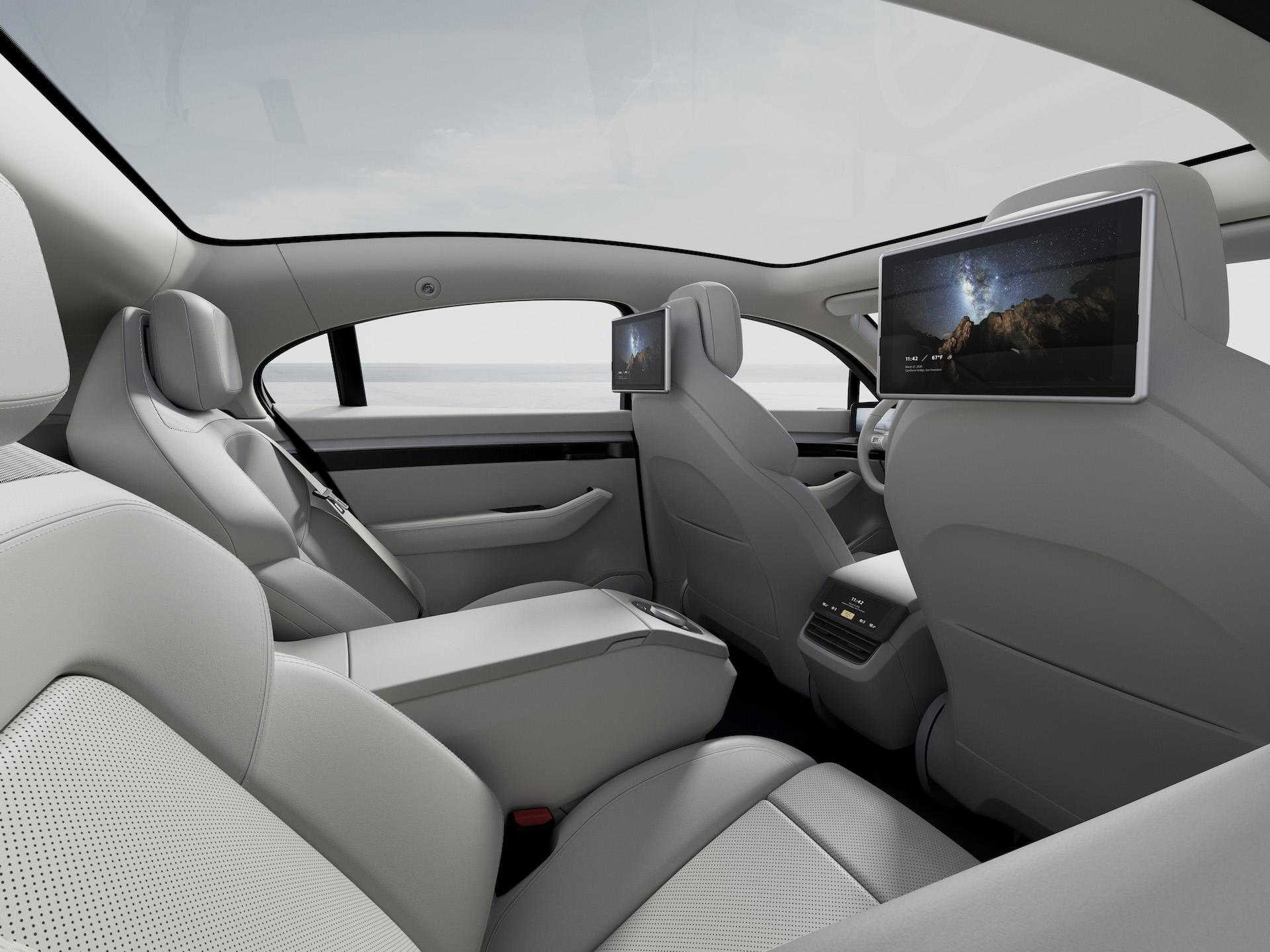 Vision S: Sony präsentiert den Prototypen eines eigenen Elektroautos 2