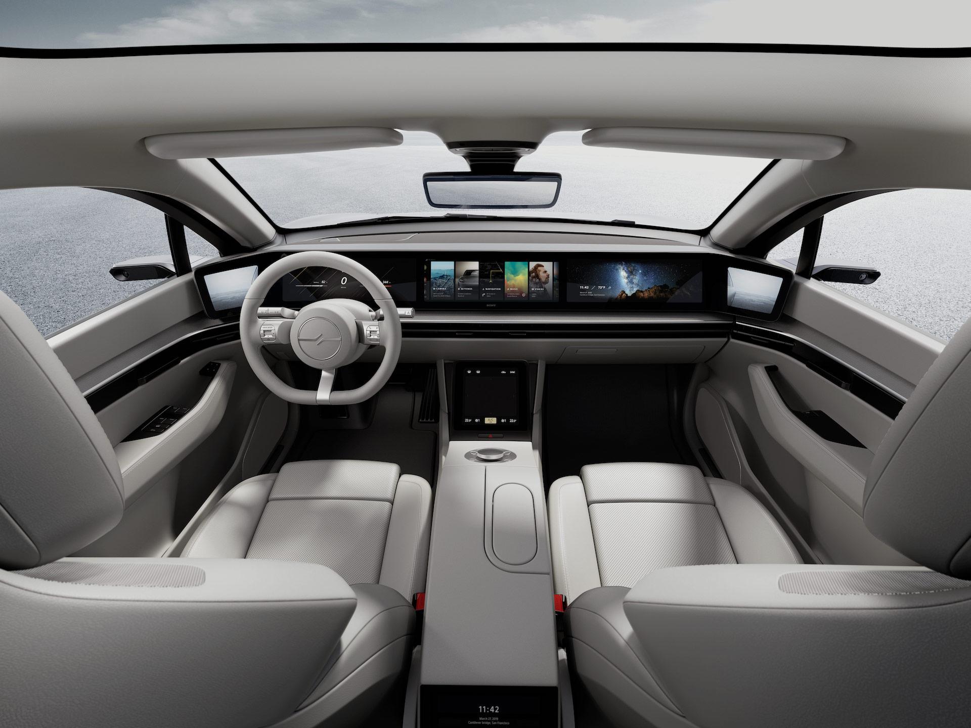 Vision S: Sony präsentiert den Prototypen eines eigenen Elektroautos 9