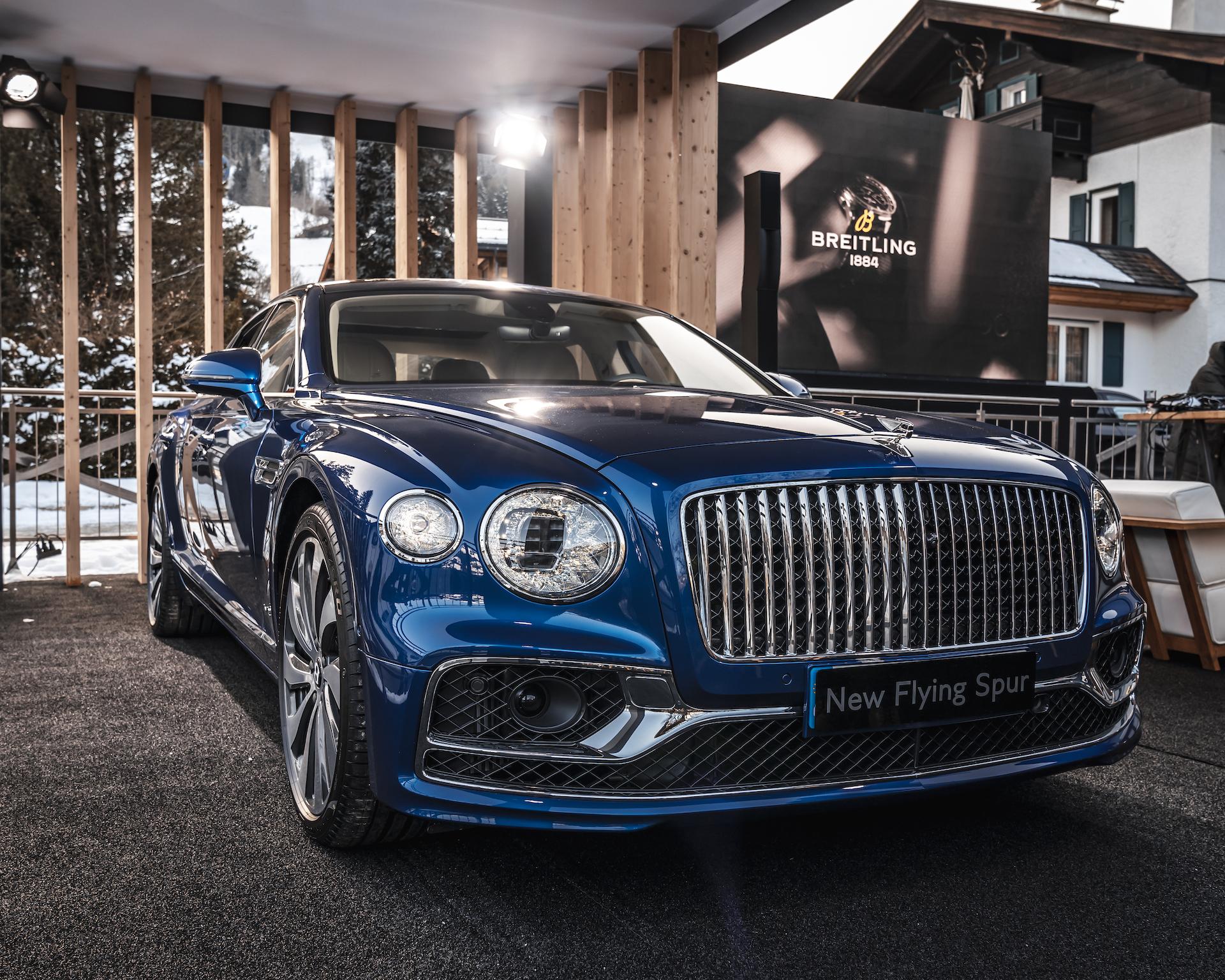 Mit 635 PS und dem Bentley Bentayga Speed zum Hahnenkamm-Rennen nach Kitzbühel