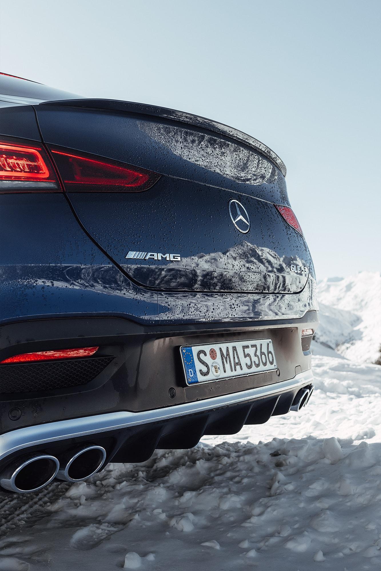 Der Mercedes-AMG GLE Coupé: Die perfekte Kombination aus Selbstzünder und Elektroantrieb 8