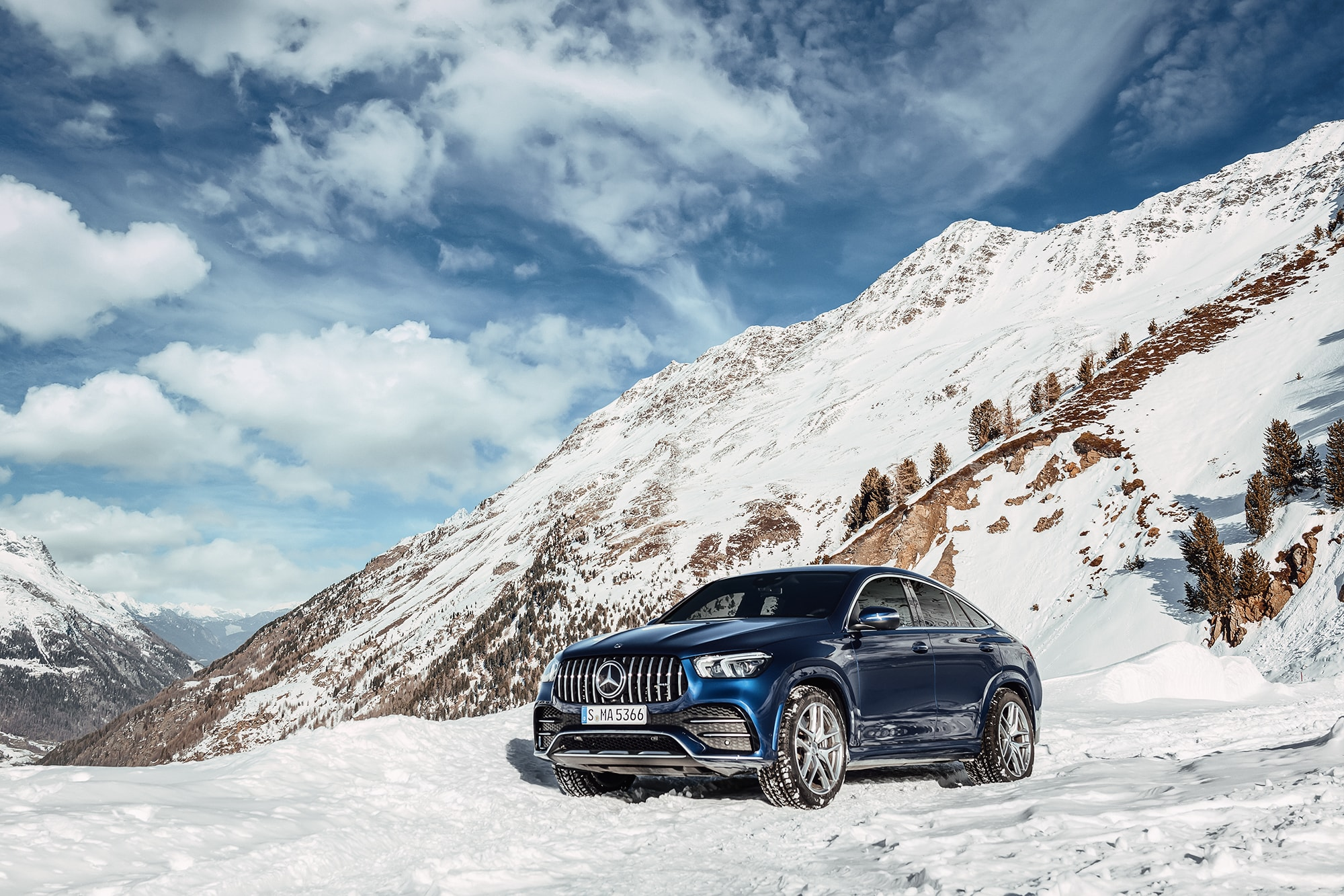Der Mercedes-AMG GLE Coupé: Die perfekte Kombination aus Selbstzünder und Elektroantrieb 1