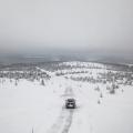 Mit dem T-Roc R und 300PS seitwärts über einen zugefrorenen See