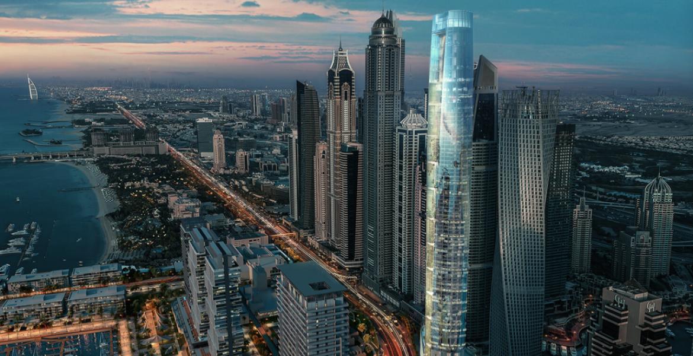 """Das """"Ciel"""" Hotel in der Dubai Marina: Das höchste Hotel der Welt"""