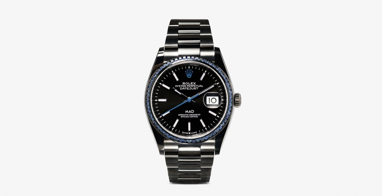 Gelungenes ReDesign: Die Rolex Datejust 36 x Mad Paris