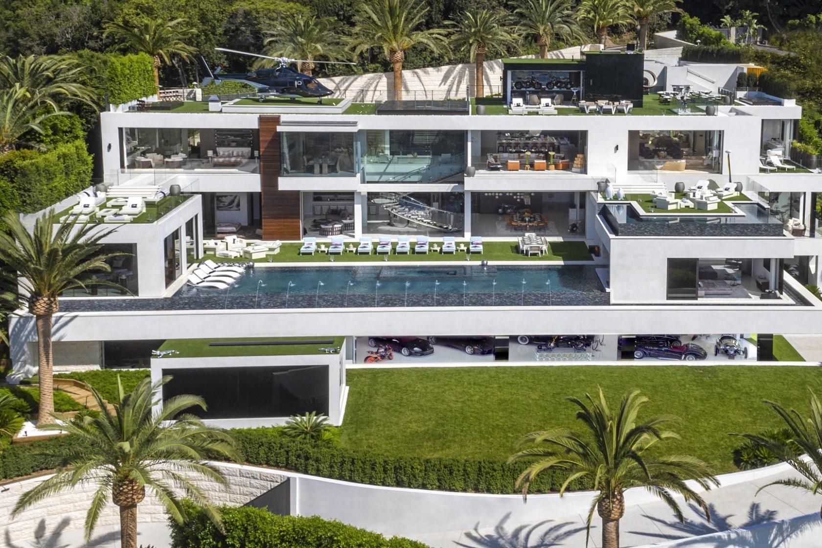 Traumhaus in Bel Air: Dieses $250 Millionen Dollar Anwesen wechselt für $94 Millionen den Besitzer 1