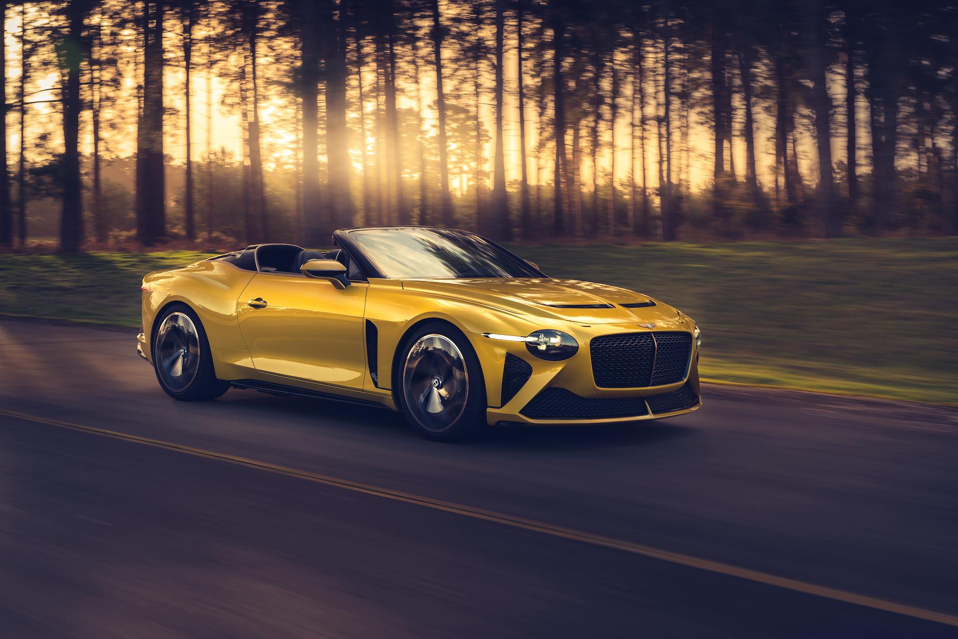 Offener Zweisitzer-GT mit 659 PS: Der neue Bentley Bacalar 1