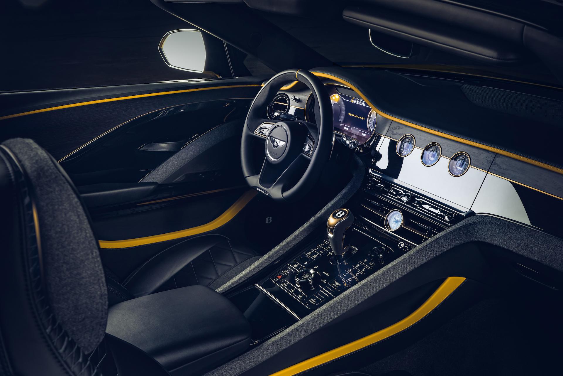 Offener Zweisitzer-GT mit 659 PS: Der neue Bentley Bacalar 9