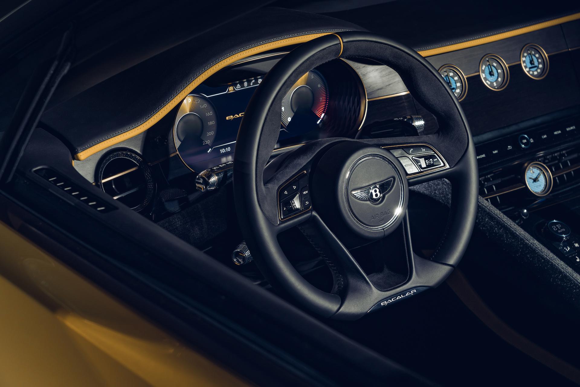 Offener Zweisitzer-GT mit 659 PS: Der neue Bentley Bacalar 8