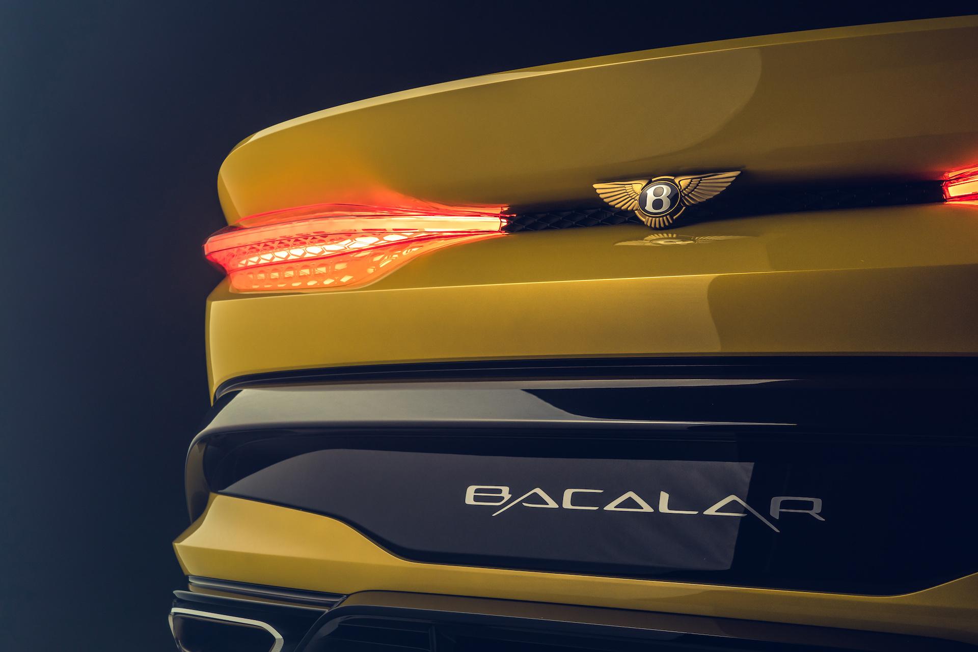 Offener Zweisitzer-GT mit 659 PS: Der neue Bentley Bacalar 6