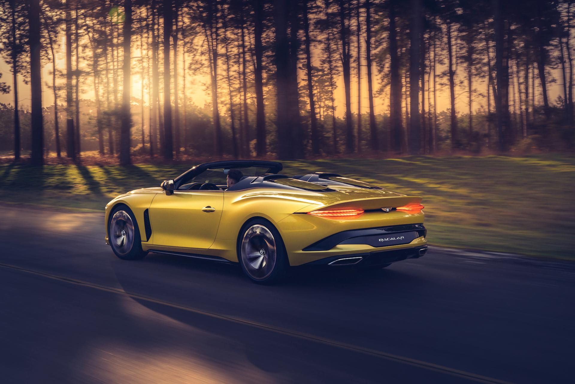 Offener Zweisitzer-GT mit 659 PS: Der neue Bentley Bacalar 2