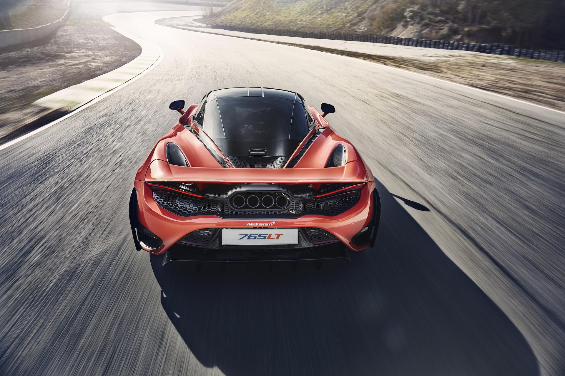 Leichter, leistungsfähiger, noch attraktiver: Der neue 765LT wird vorgestellt 5