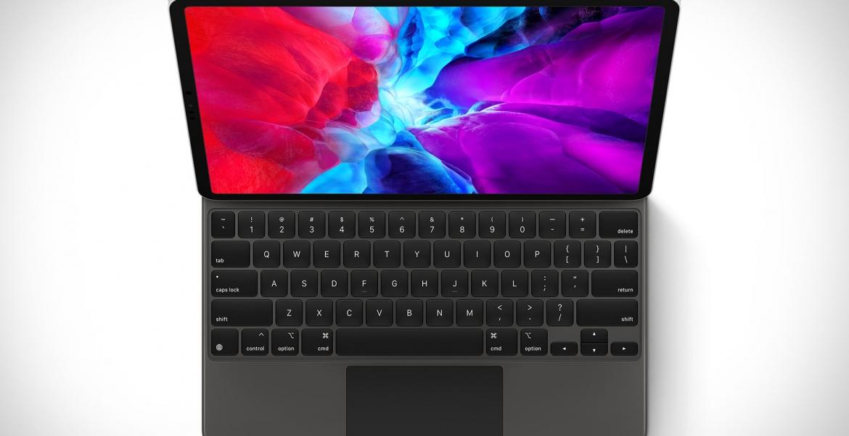 Apple stellt das neue iPad Pro mit beleuchtetem Magic Trackpad vor