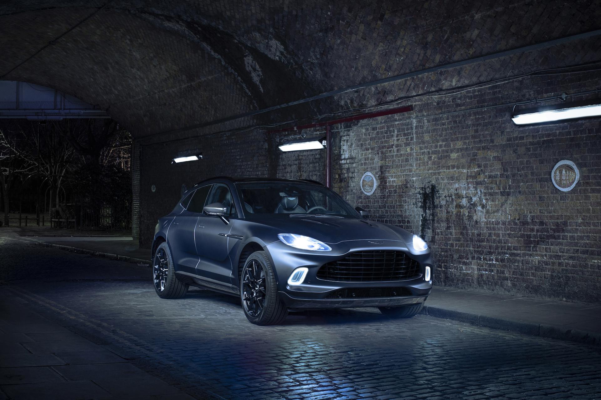 Der 007-SUV: Aston Martin stellt den DBX vor 7