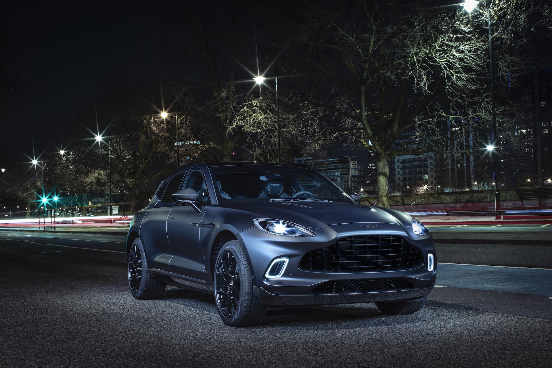 Der 007-SUV: Aston Martin stellt den DBX vor 1
