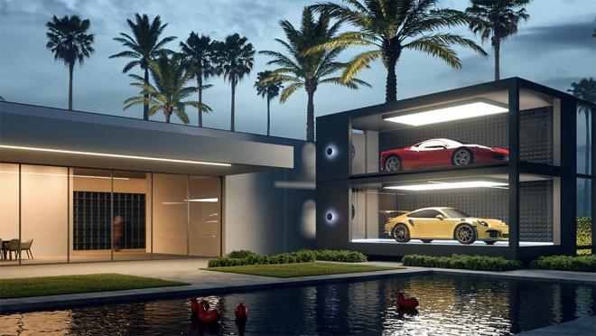 Design-Duo verwandelt Dein Zuhause in eine private Galerie für Deine Autosammlung 1