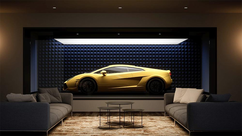 Design-Duo verwandelt Dein Zuhause in eine private Galerie für Deine Autosammlung 7