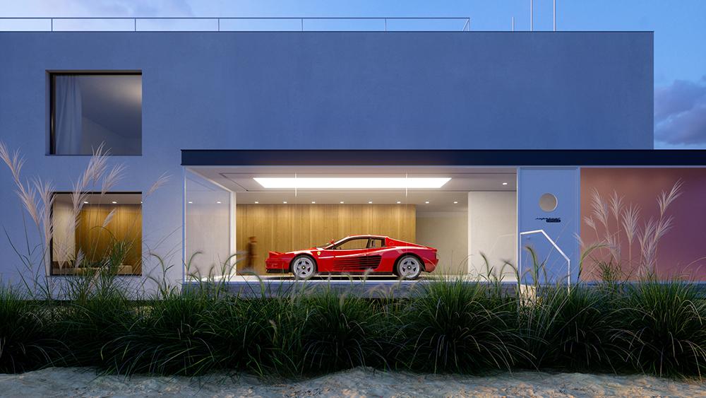 Design-Duo verwandelt Dein Zuhause in eine private Galerie für Deine Autosammlung 5