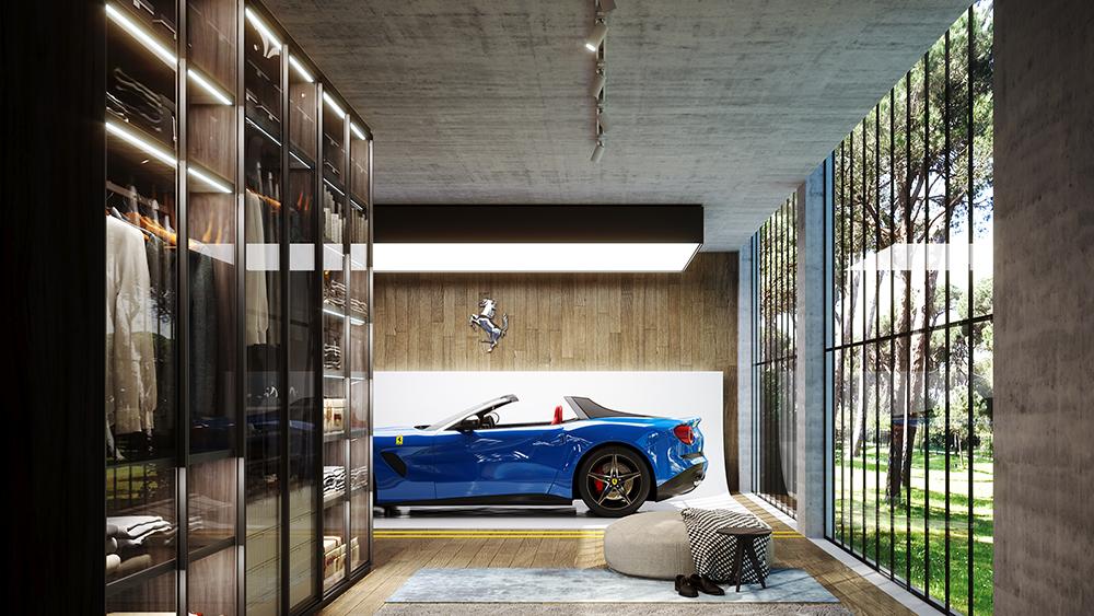 Design-Duo verwandelt Dein Zuhause in eine private Galerie für Deine Autosammlung 3