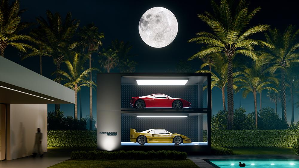 Design-Duo verwandelt Dein Zuhause in eine private Galerie für Deine Autosammlung 2