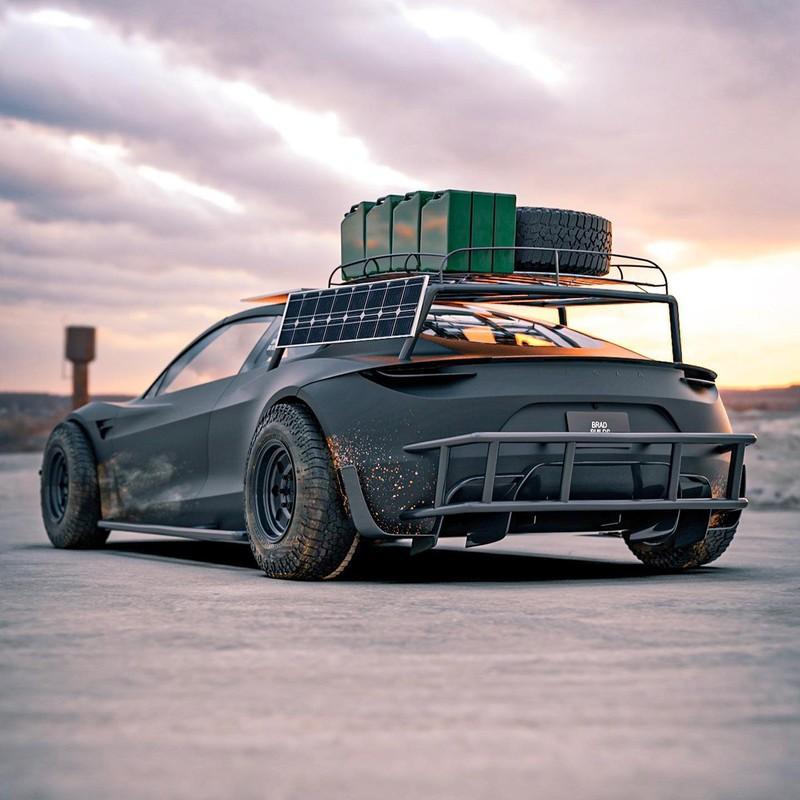 Dieses Tesla Roadster-Konzept ist bereit für die Apokalypse 9
