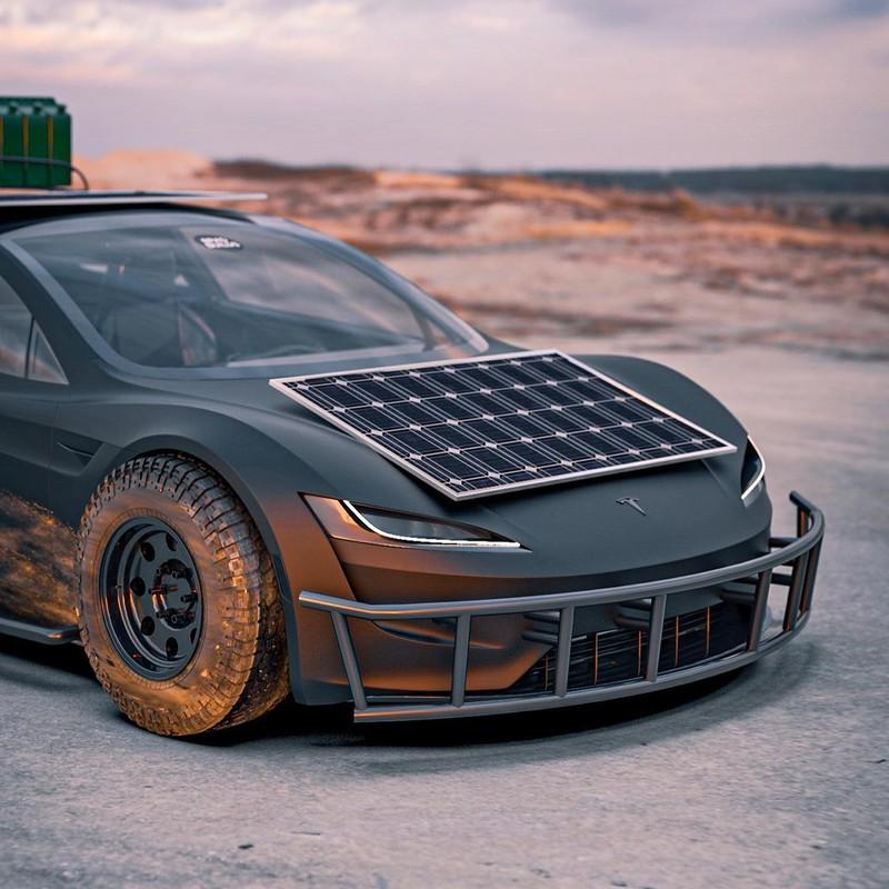 Dieses Tesla Roadster-Konzept ist bereit für die Apokalypse 8