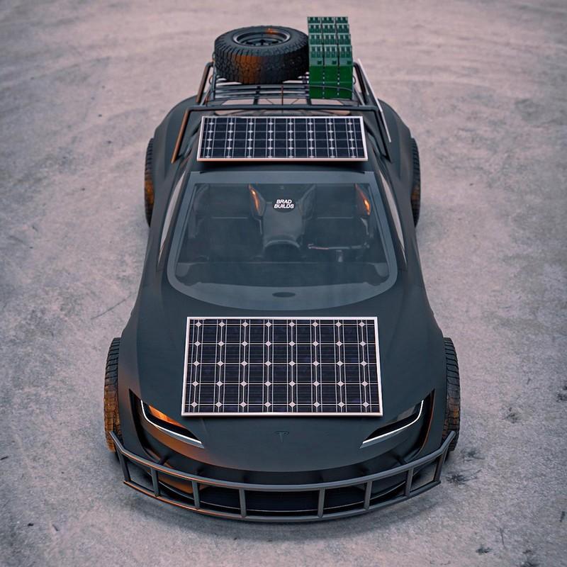 Dieses Tesla Roadster-Konzept ist bereit für die Apokalypse 5