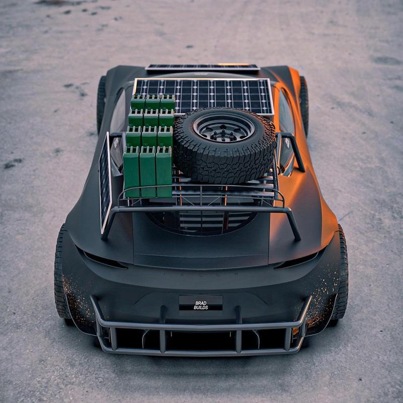 Dieses Tesla Roadster-Konzept ist bereit für die Apokalypse 4