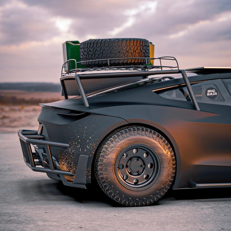 Dieses Tesla Roadster-Konzept ist bereit für die Apokalypse 3