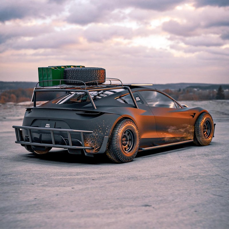 Dieses Tesla Roadster-Konzept ist bereit für die Apokalypse 2
