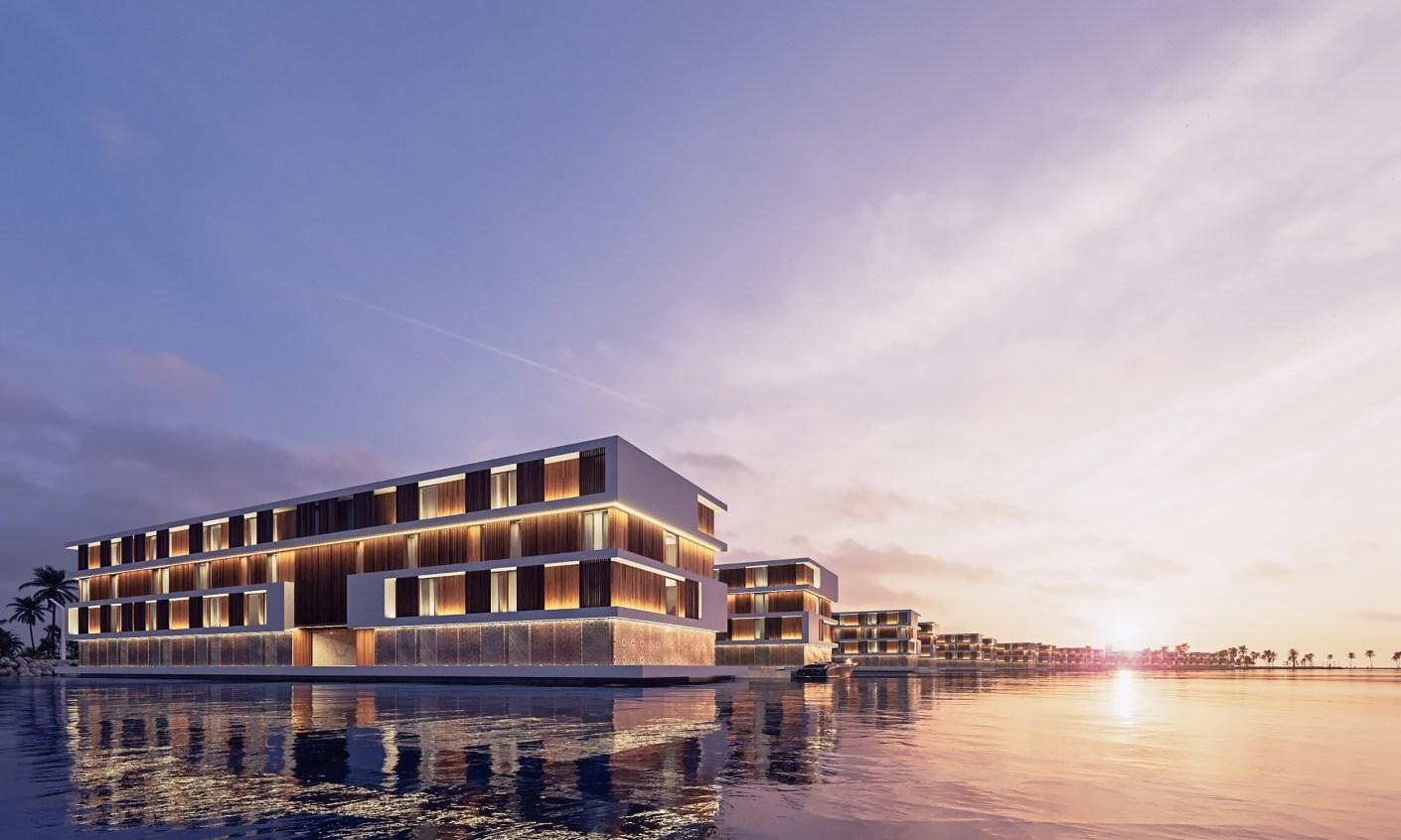 Qetaifan Island: Katar baut 16 schwimmende Hotels für die WM 2022 3