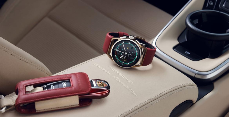 Porsche Design präsentiert den passenden Chronographen zum 911 Targa 4S Heritage Design Edition