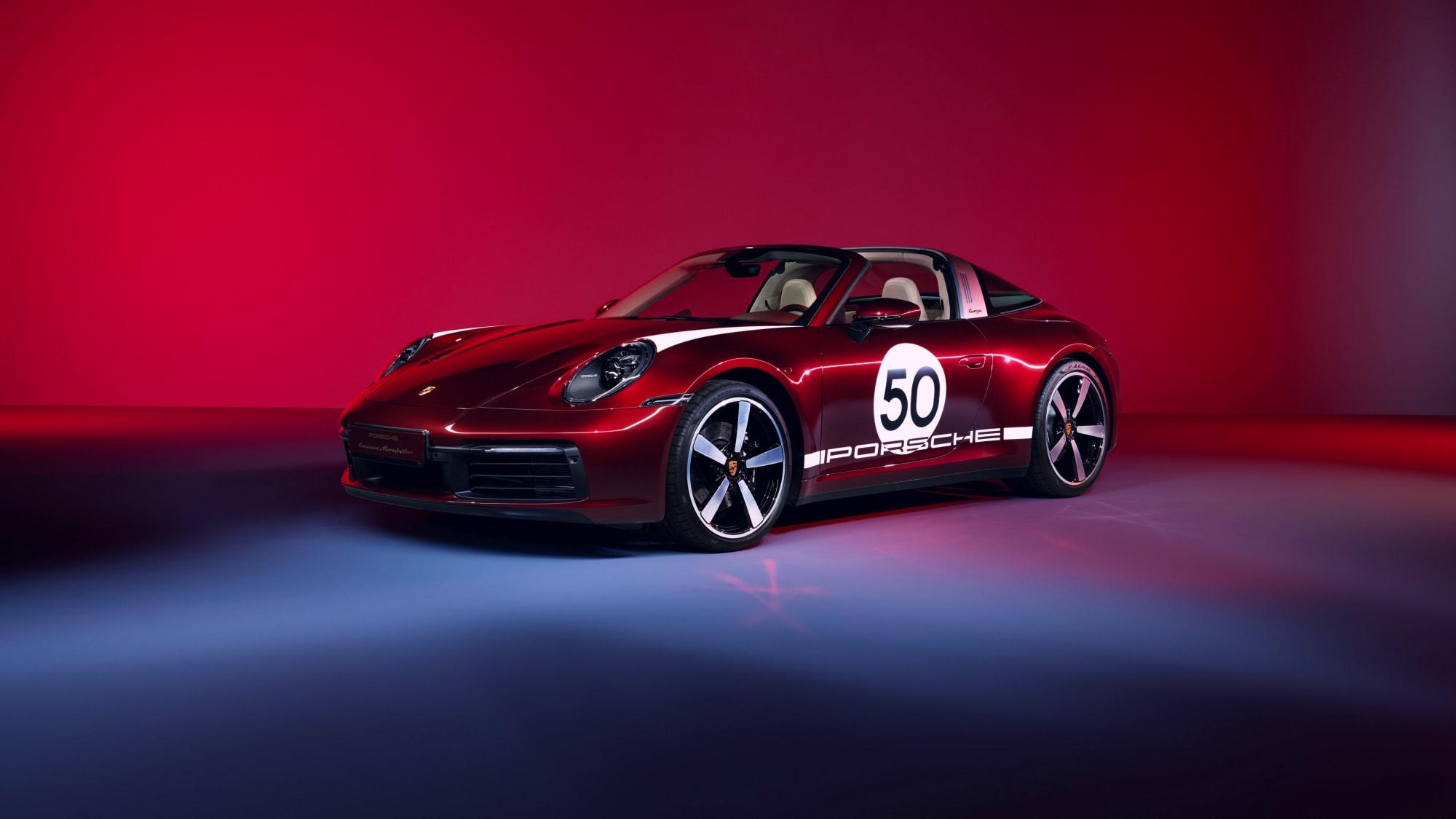 Tradition für Sammler: Die 911 Targa 4S Heritage Design Edition 1