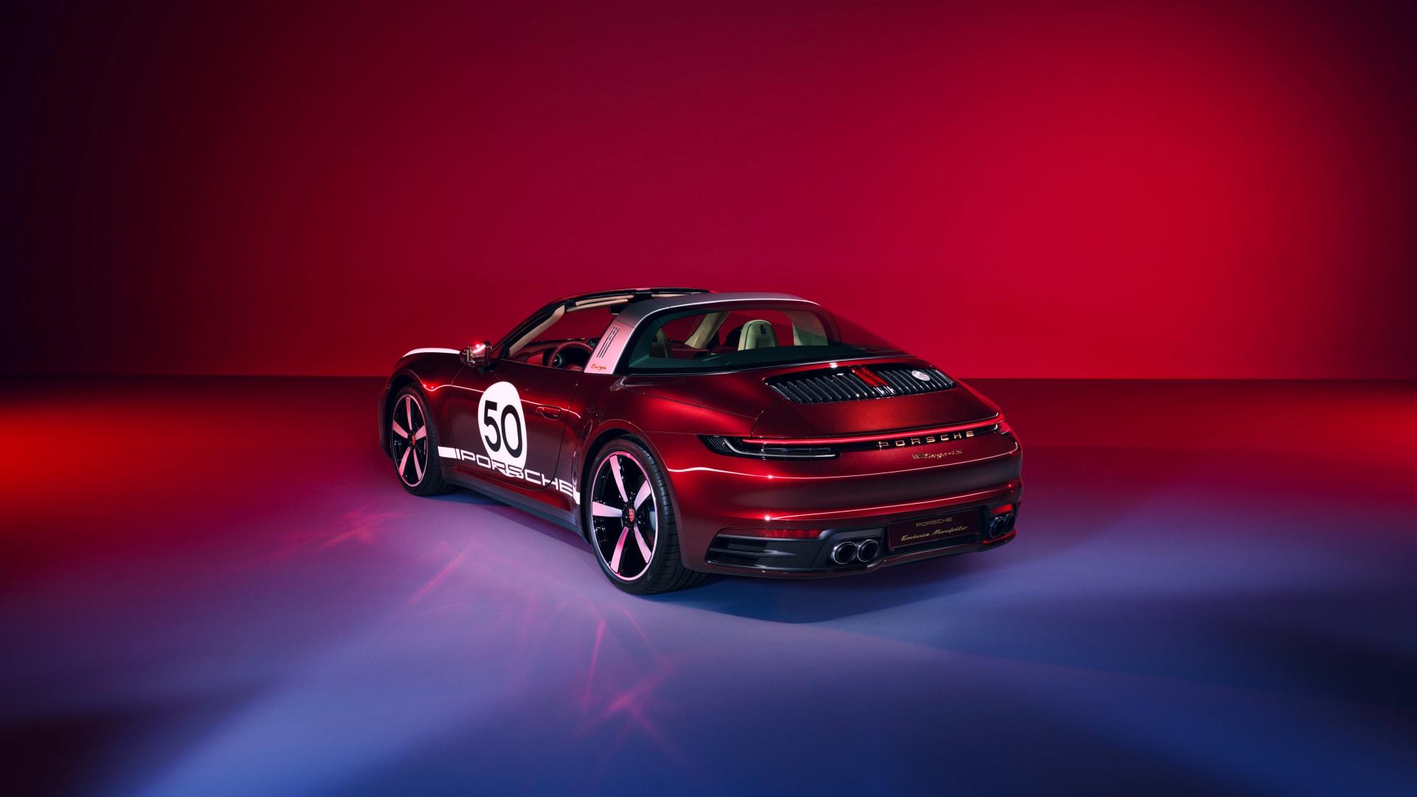Tradition für Sammler: Die 911 Targa 4S Heritage Design Edition 2