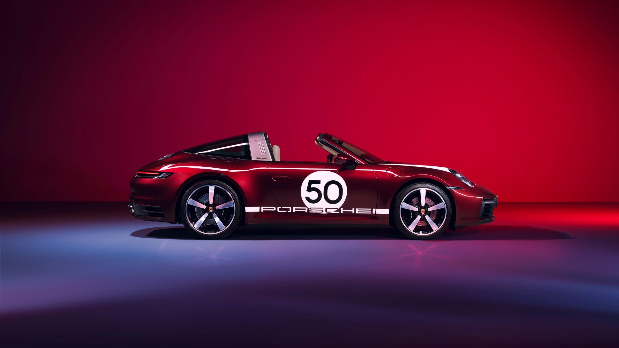 Tradition für Sammler: Die 911 Targa 4S Heritage Design Edition 3