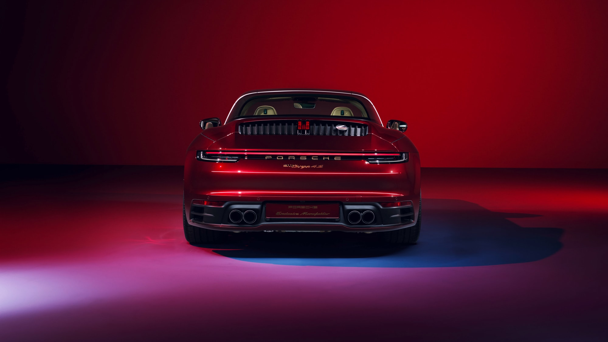 Tradition für Sammler: Die 911 Targa 4S Heritage Design Edition 4