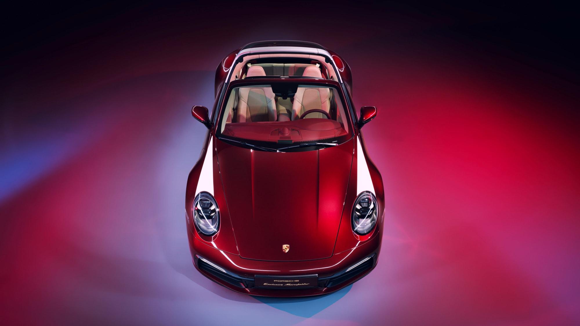 Tradition für Sammler: Die 911 Targa 4S Heritage Design Edition 11
