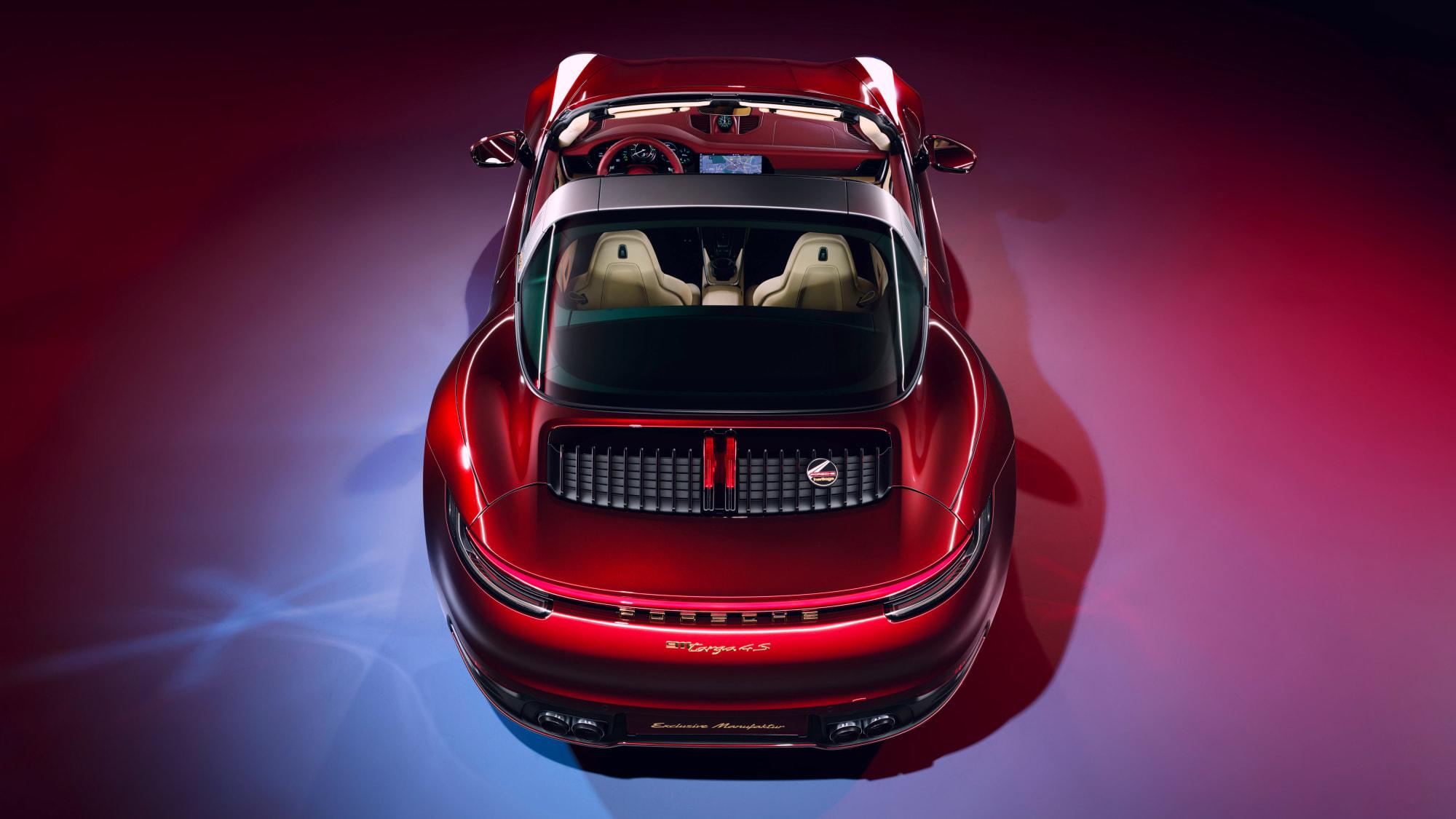 Tradition für Sammler: Die 911 Targa 4S Heritage Design Edition 12