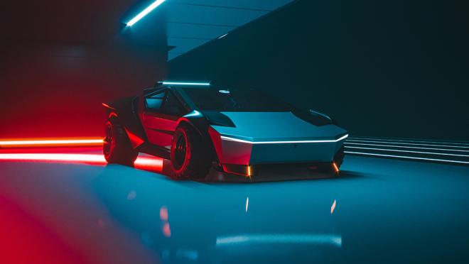 Dieses neue Cybertruck-Konzept verwandelt den elektrischen Pickup in einen Supersportwagen 3