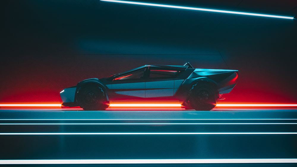 Dieses neue Cybertruck-Konzept verwandelt den elektrischen Pickup in einen Supersportwagen 4