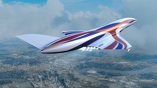 """Das Hypersonic """"Space Plane"""" bringt Dich bald in einer Stunde von New York nach London"""