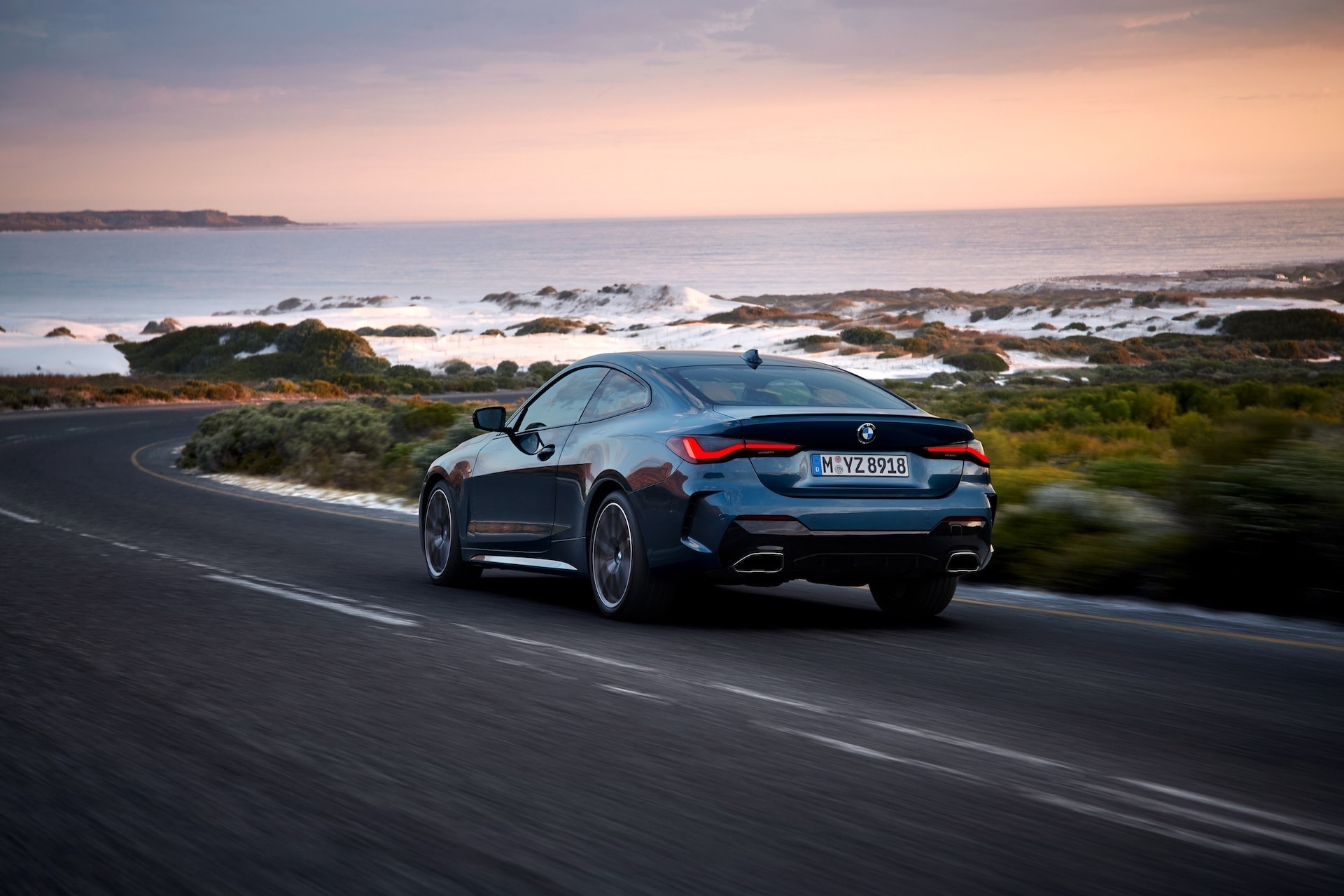 Neue bayrische Dynamik: Das 4er Coupé von BMW ist da 8