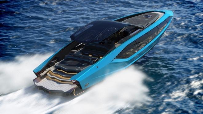 Tecnomar for Lamborghini 63: Die Lamborghini-Yacht auf dem Wasser