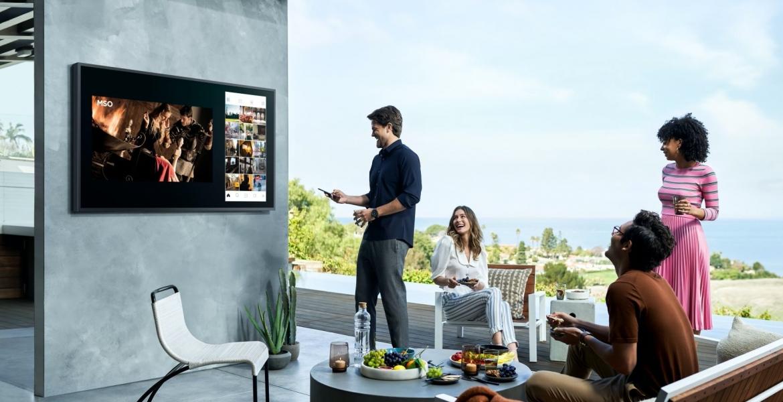 "Samsung präsentiert den ersten Outdoor-Fernseher: ""The Terrace"""